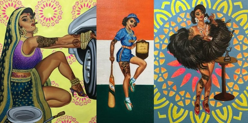 'Badass Indian Pinups' Artist Nimisha Bhanot Talks Art, Identity, and FemaleEmpowerment
